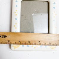 Cute White Ceramic Picture Frame - 005