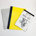 Three Assorted Note + Paper Pads