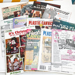 Large Bundle of Plastic Canvas Magazines