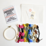 Embroidery Starter Kit + Embroidery Beginners Zine
