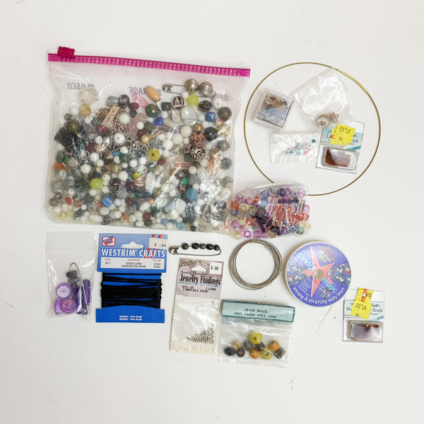 Assorted Bead + Wire Bundle