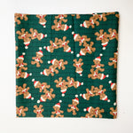 "Teddy Bear Holiday Quilting Weight Fabric - 24"" x 42"""