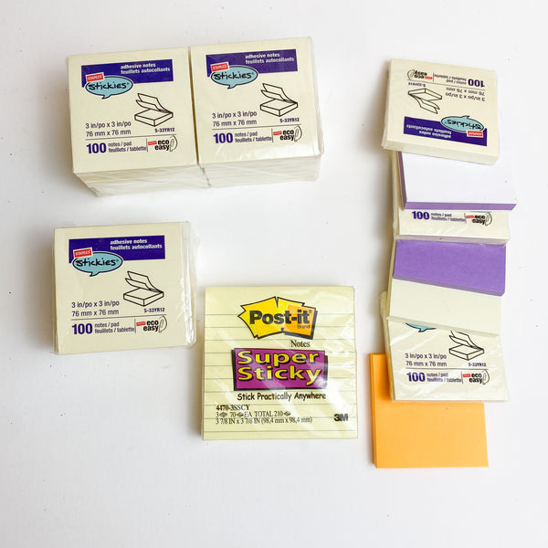 Lifetime Supply of Sticky Notes