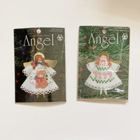 Angel Cross Stitch Ornaments