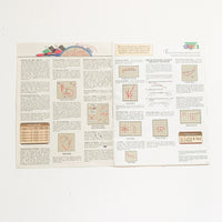 Noble Professions Cross Stitch Pattern Booklet