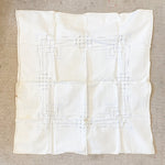 "Vintage Square Table Cloth - 32"" x 32"""