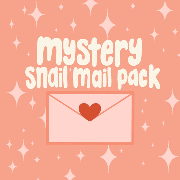 Mystery Snail Mail Pack