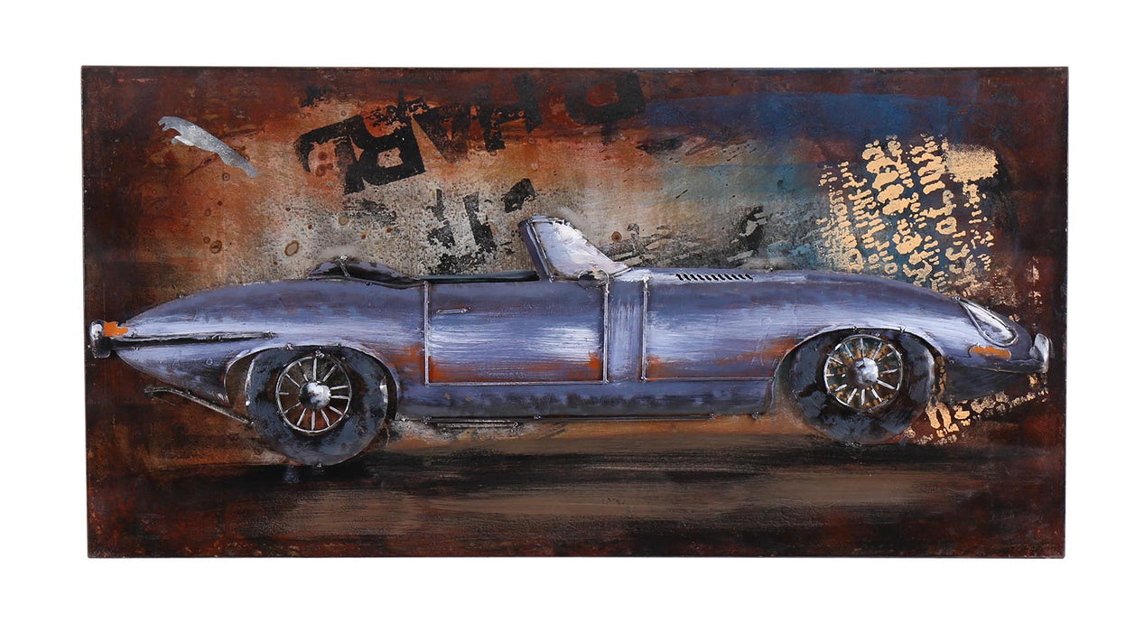 3D E Type Metal Painting