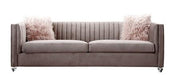 Crawford Pink 3 Seater Sofa