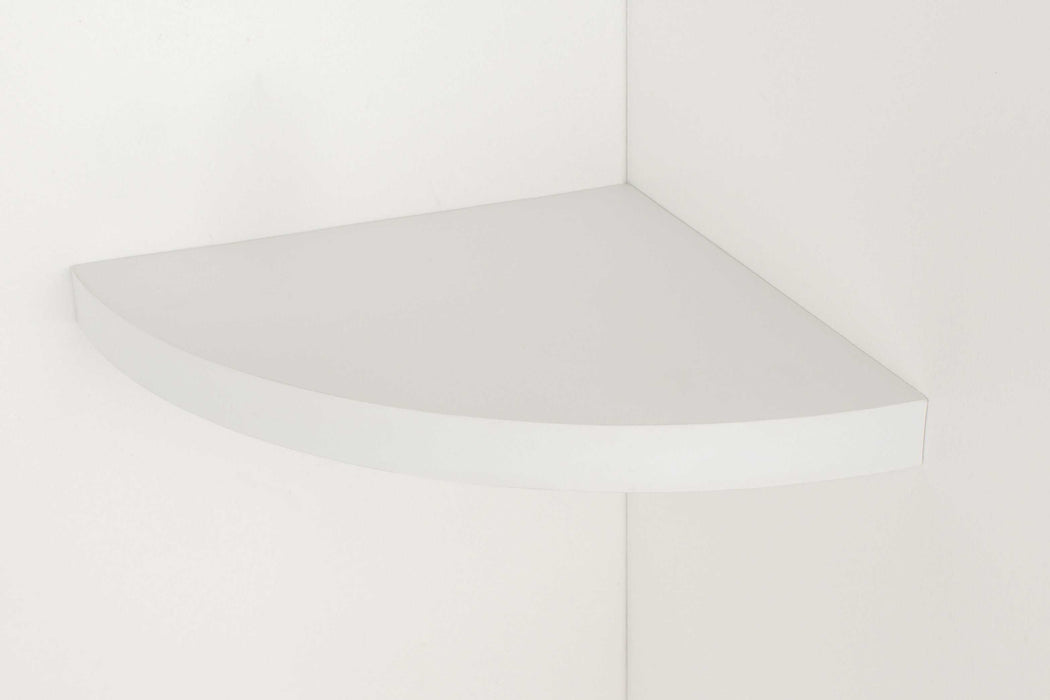 Hudson Corner Box Shelf Kit in Gloss White