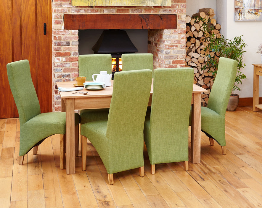 Mobel 150Cm Dining Table, Oak (4/6 Seater)