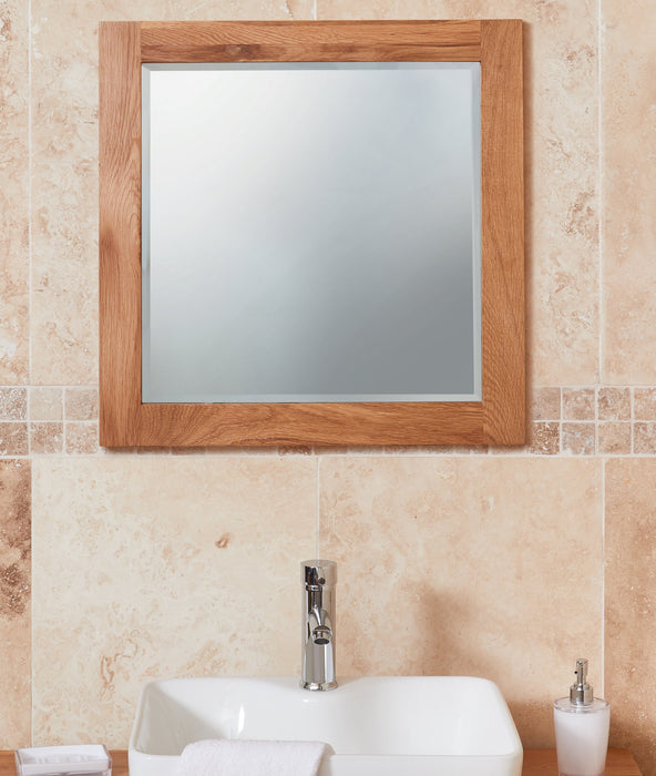 Solid Oak Mirror (Large)