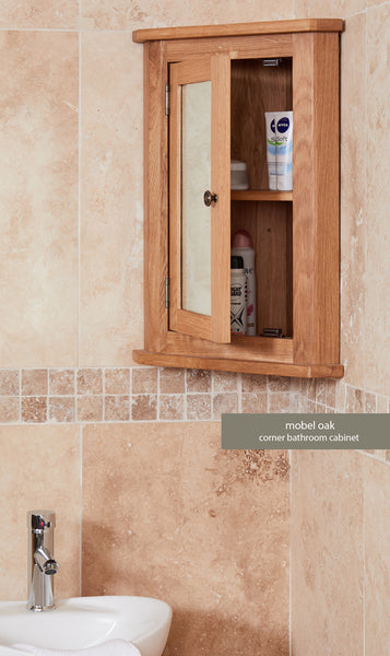 Bathroom-Collection-Solid-Oak-Mirrored-Corner-Wall-Cabinet