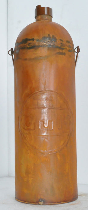 Gulf Oil Bottle Rustic