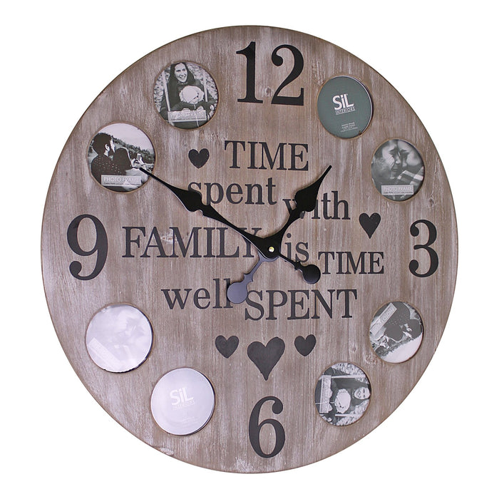 Family Photo Clock 60cm