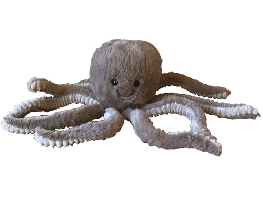 Octopus Doorstop - Brown