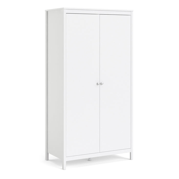 Madrid Wardrobe with 2 doors in White