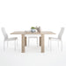 Lyon Dining set package Lyon Small extending dining table 90/180cm + 6 Milan High Back Chair White.