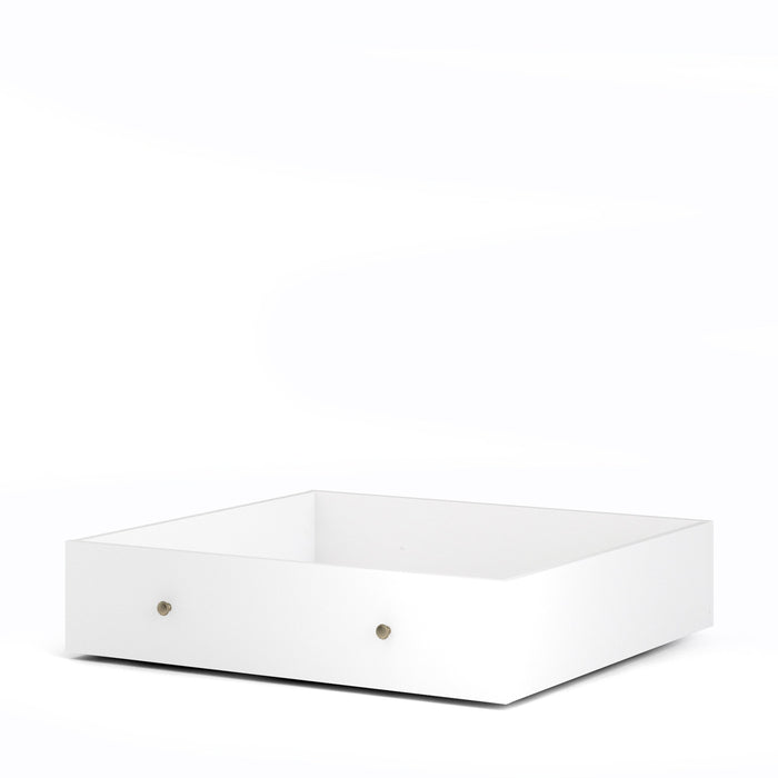 Paris Underbed Storage Drawer for Single Bed in White