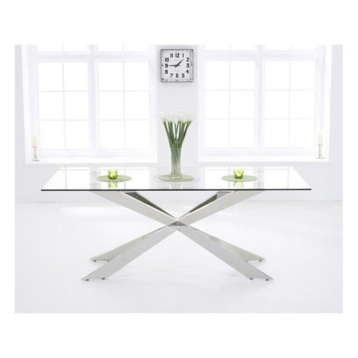 Jazz Glass Dining Table - 160cm - PT29610