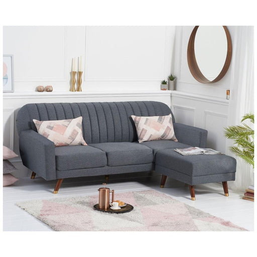 Leslie Grey Sofa Bed - Linen - PT32979