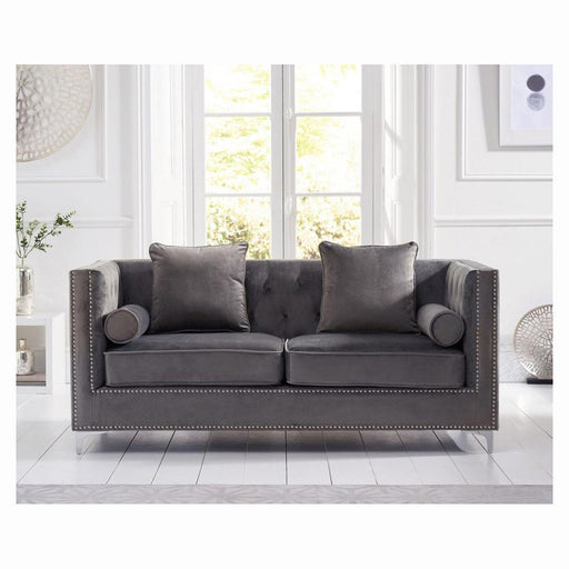 New England 3 Seater Sofa - Grey - PT32292