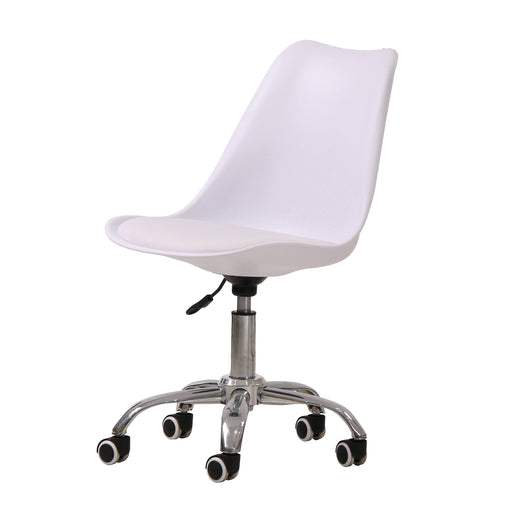 Orsen Swivel Office Chair White