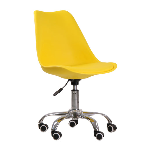 Orsen Swivel Office Chair Yellow