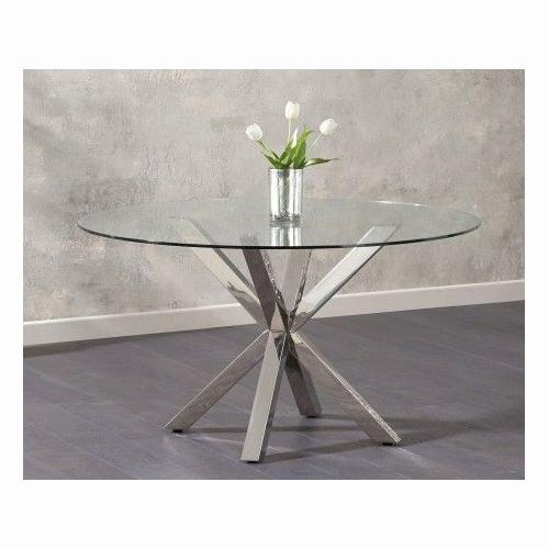 Remus Round Glass Dining Table - PT32620