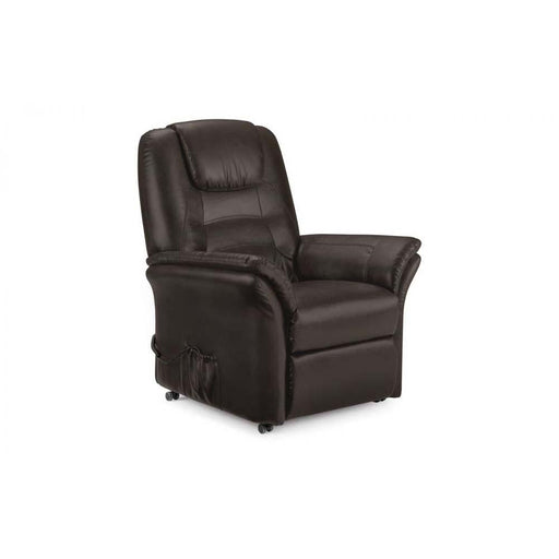 Julian Bowen Riva Recliner Brown Sitting