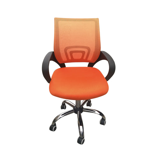 Tate Mesh Back Office Chair Orange