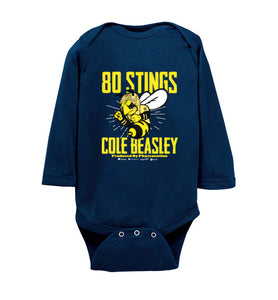 Bee Long-Sleeve Onesie