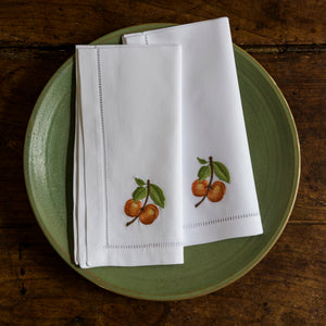 Apricot napkins set of 4