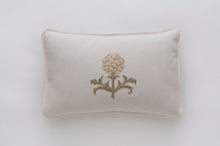 Artichoke Cream linen cushion cover