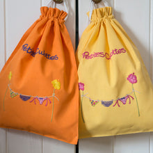 Citrus Yellow & Orange bags
