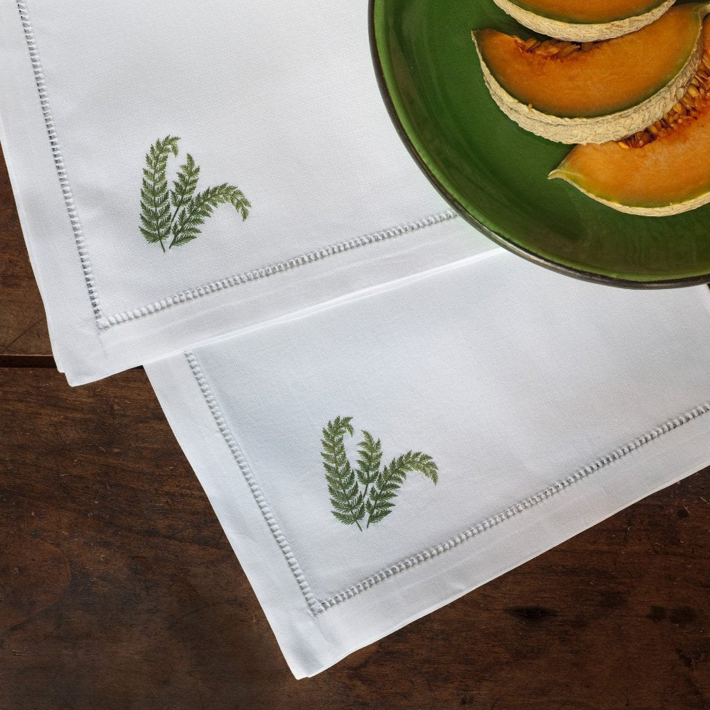 Fern Green napkins