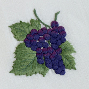 Grapes napkins & placemats