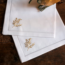 Leaf Gold napkins