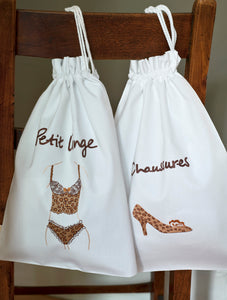Leopard Brown bags