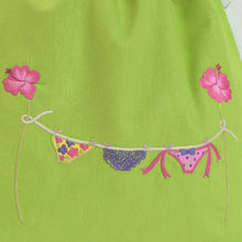 Tropical Lime & Fuchsia bags