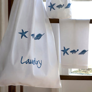 Marina Blue hand towel