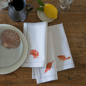 Marina Orange napkins