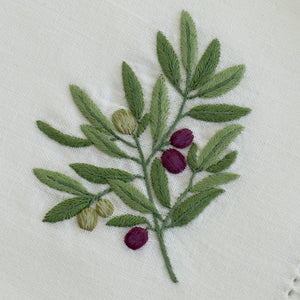 Olive & Grape napkins