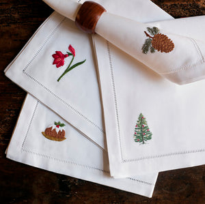 Pudding napkins