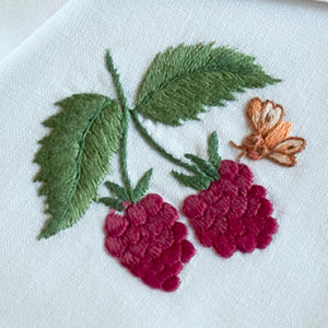 Bug & Berries napkins