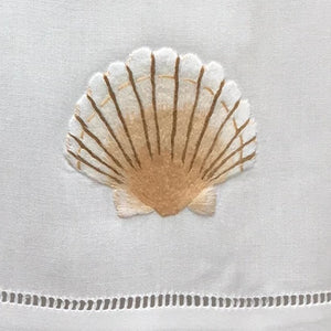 Shell hand towels