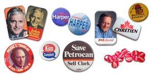 Campaign Badges For Canadian Elections
