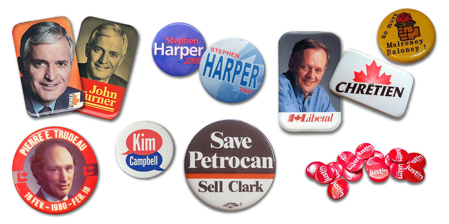 Happy Election Year Canada | Campaign Buttons for Federal Election 2019