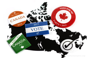 where to get election buttons made canada
