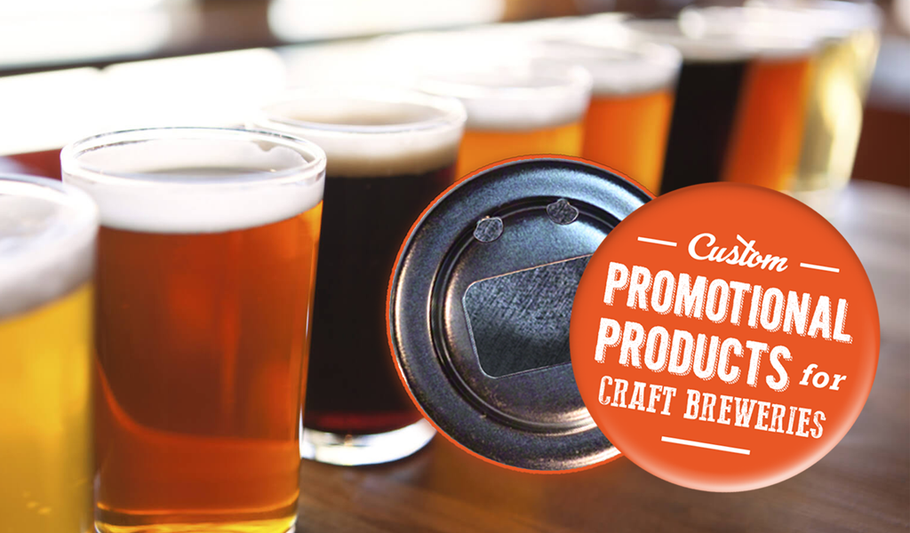 Best Promotional Products For Craft Breweries | Custom Bottle Openers Canada